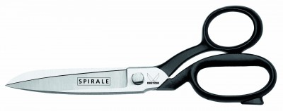 Spirale- tailor's shears 8″ blue polished
