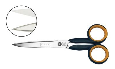 Finny- both blades serrated 6″
