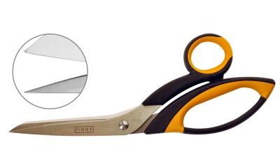 Finny- both blades serrated 8″
