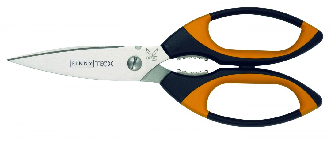Finny- TEC X Scissor with serrated blade 8″ for ropes and hard to cut items